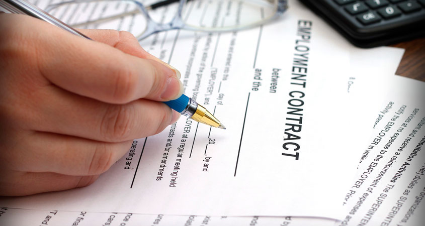 Employment Contract Effectivity
